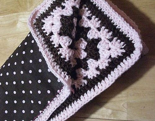 Reversible Crochet Fabric Baby Blanket Pattern By The Strumpets Tentacle