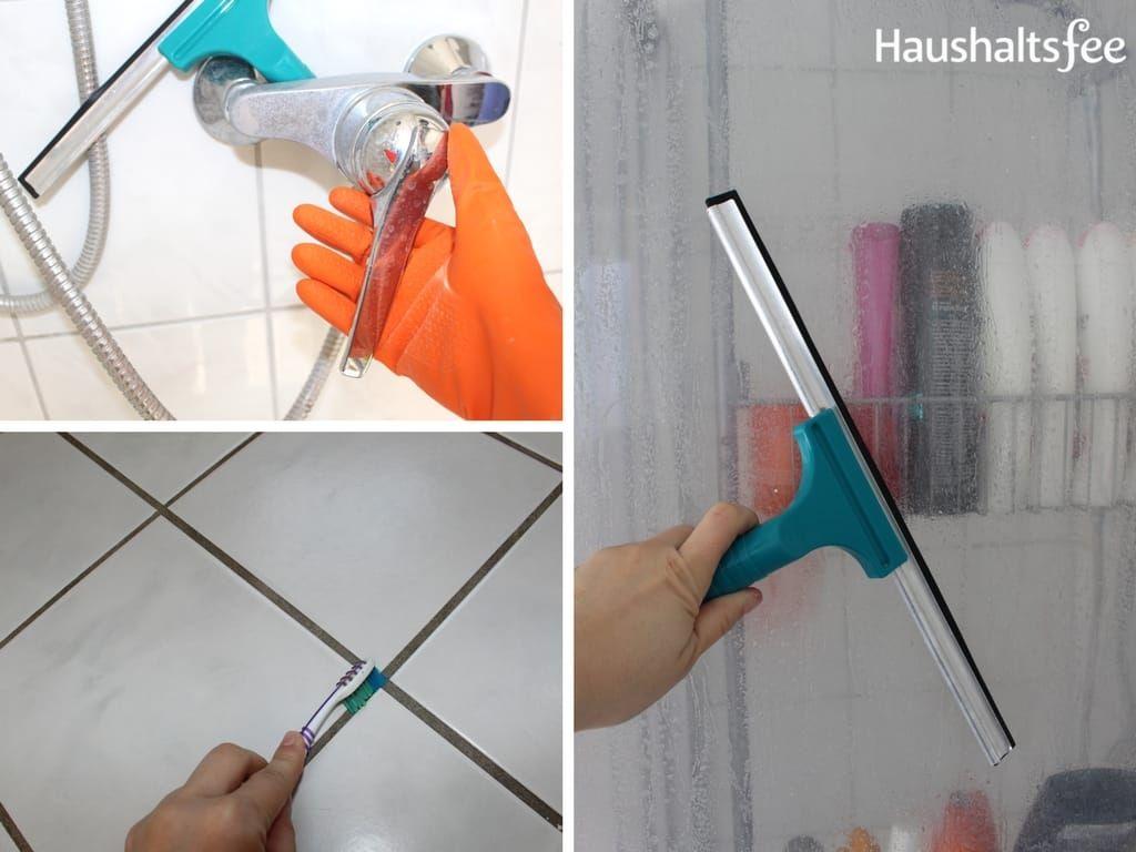 So Reinigst Du Fliesen Dusche Und Badewanne Badewanne Reinigen Reinigen Dusche