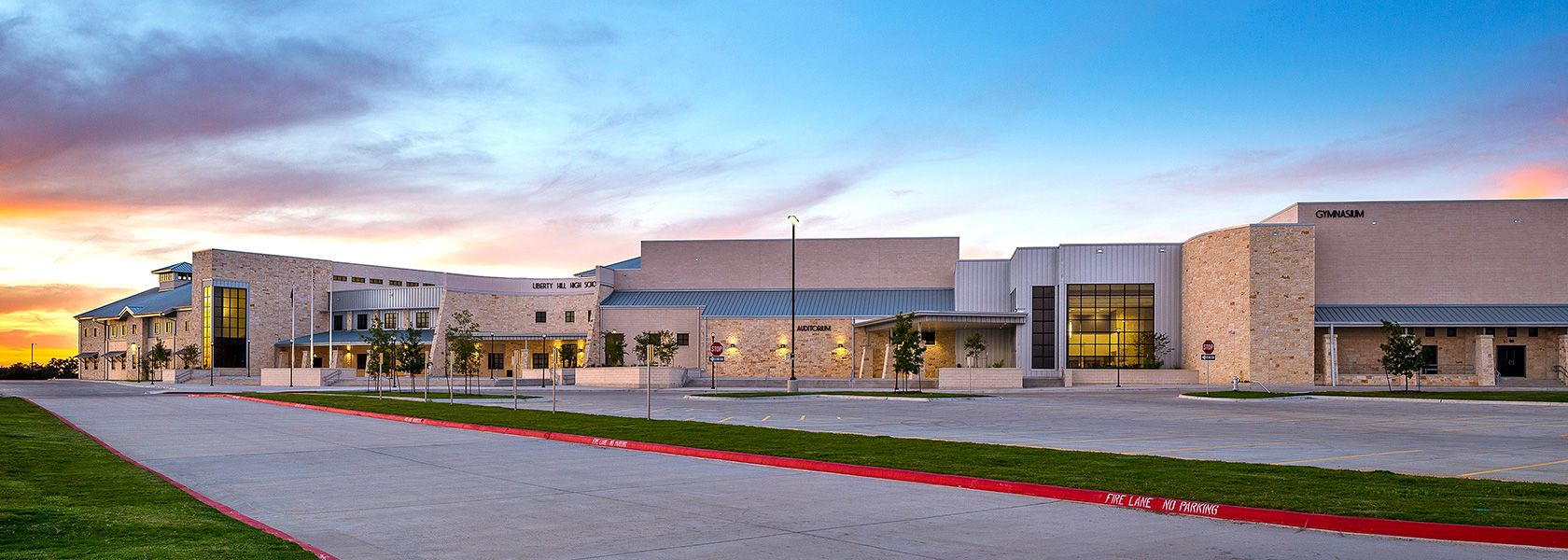 Liberty Hill High School Designed By Huckabee Inc Architects