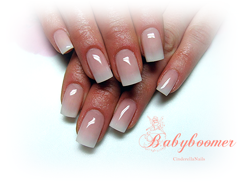 baby boomer nails | Nails | Nails, Nail equipment, Beauty nails