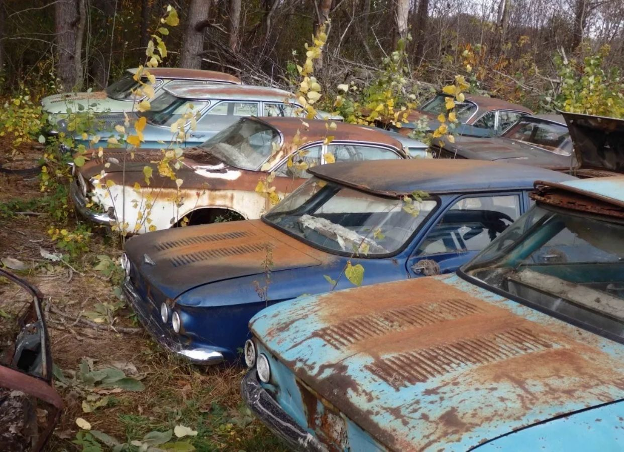 Pin by J Lunar on Junkyards, projects, abandoned, crashed