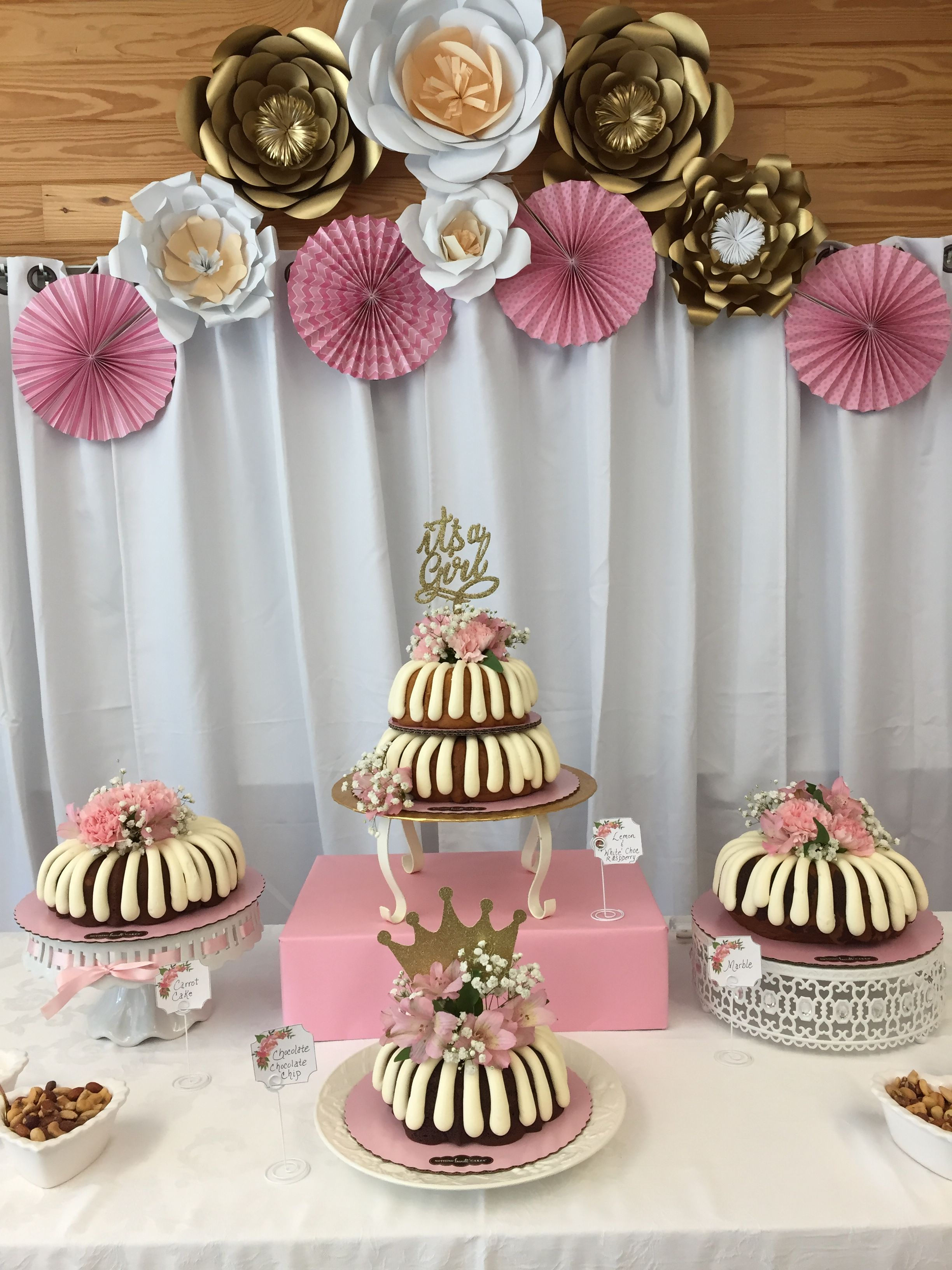 Pretty in pink cakes courtesy of nothing bundt cakes