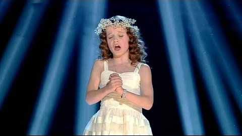 """9-year-old Amira Willighagen - 'Ave Maria' - Holland's Got Talent [""""An angel has quite literally come down to Earth for a visit, bringing her heavenly voice with her. The most moving rendition of 'Ave Maria' I have ever experienced!""""]"""