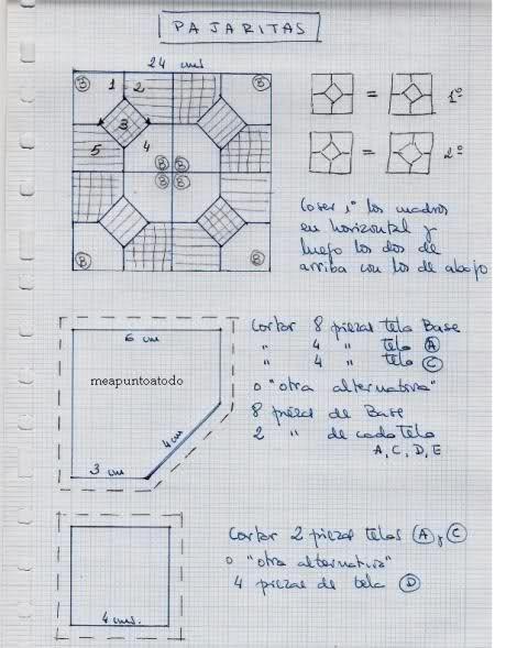 Imagen colcha pinterest patr n gratis patrones y - Patrones colchas patchwork ...