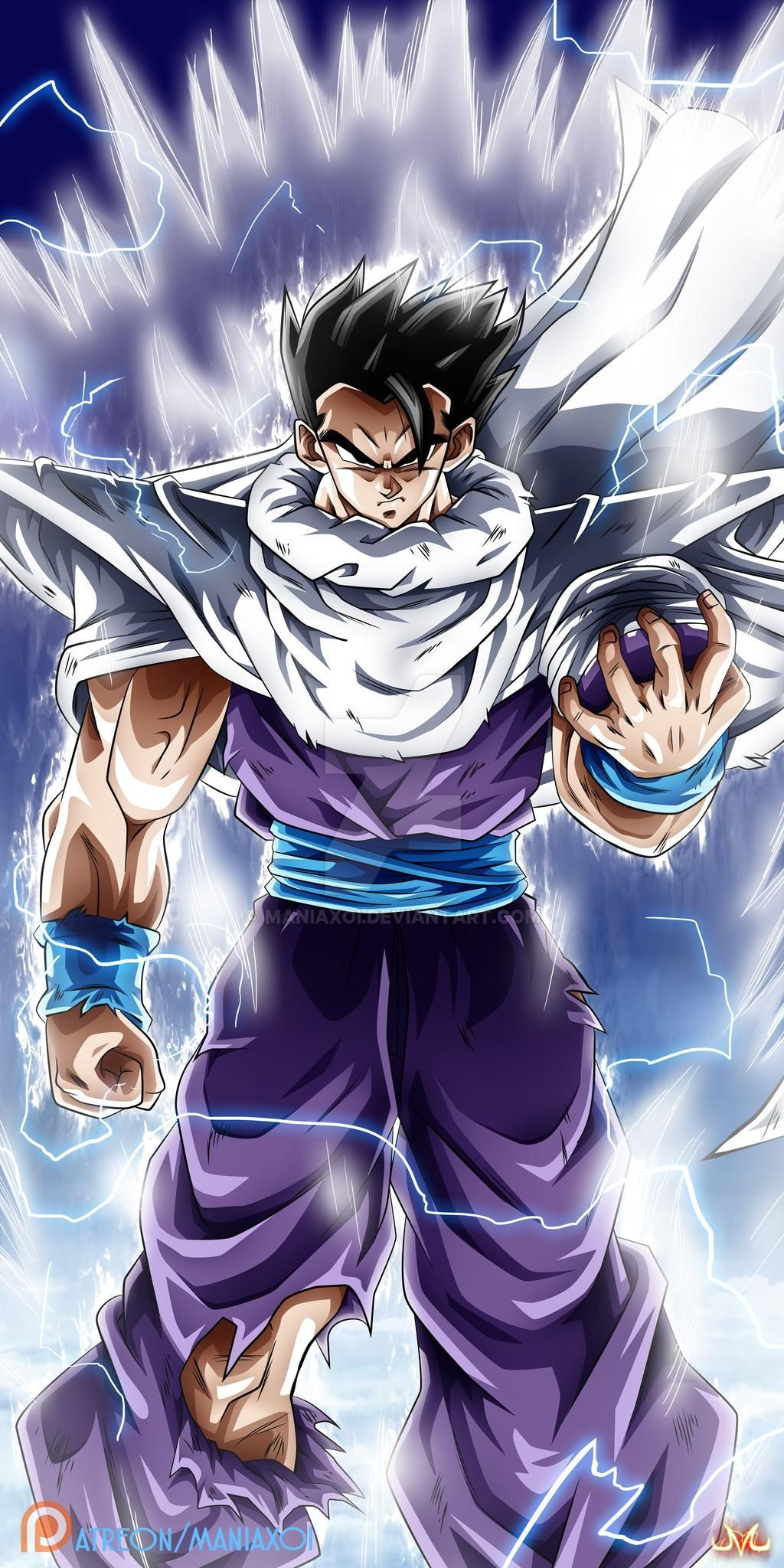 Ultimate Gohan by Maniaxoi on DeviantArt in 2020 Goku