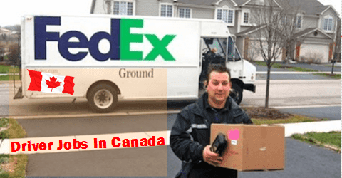 Fedex Jobs Prepossessing Driver Jobs Wanted Urgently In Canada  Pinterest