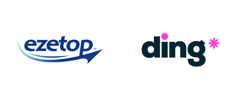 Nouveau nom, logo et identité pour ding * par DixonBaxi