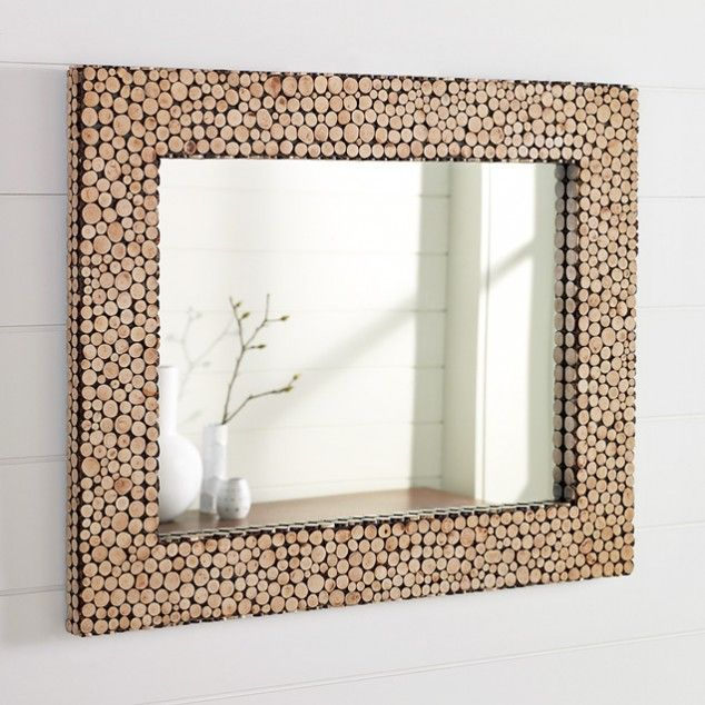 mirror frame image 03 634x634 15 creative and unique diy mirror frames ideas - Unique Mirror Ideas