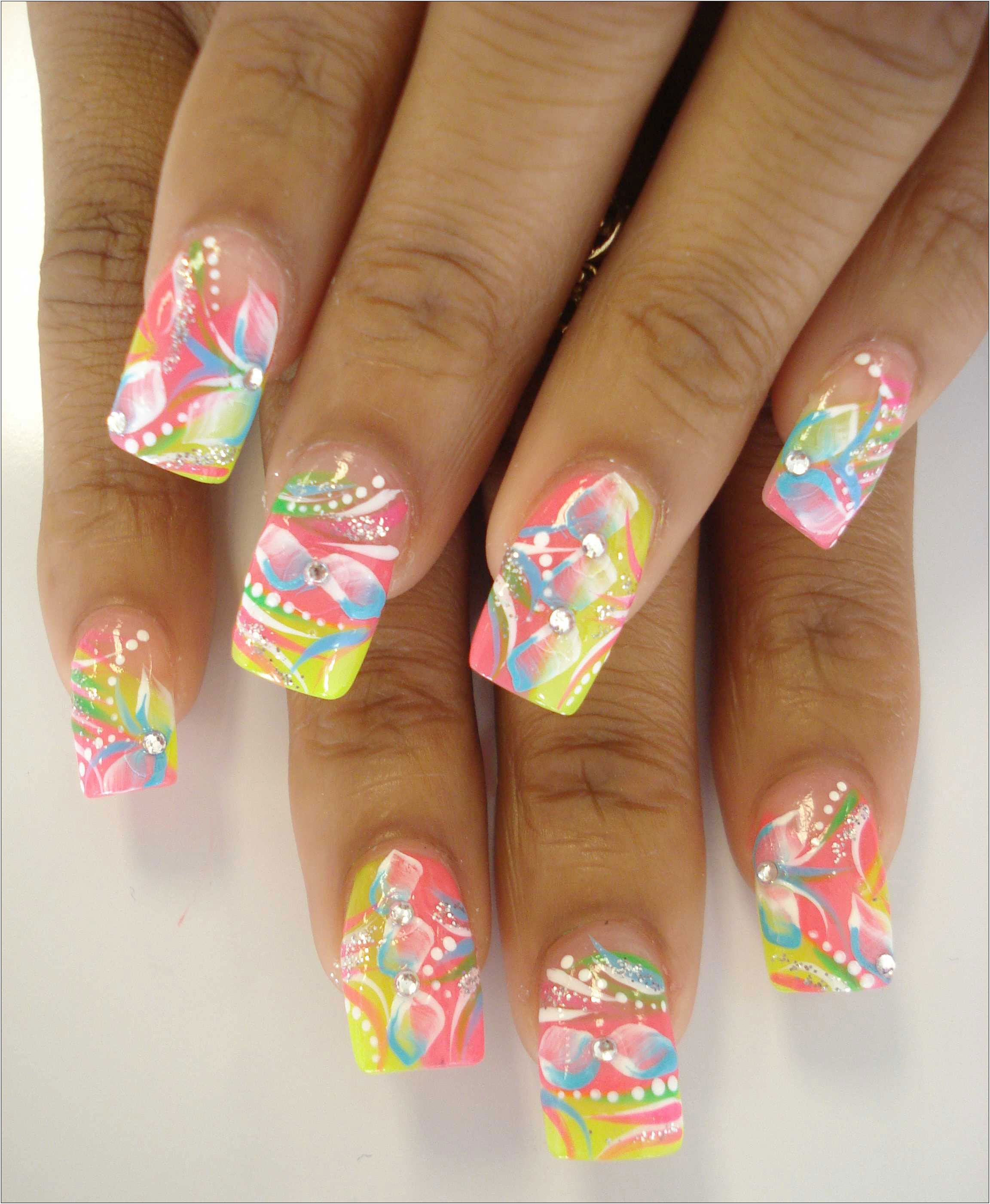 Awesome Spring Nails | Beauty | Pinterest | Spring nails