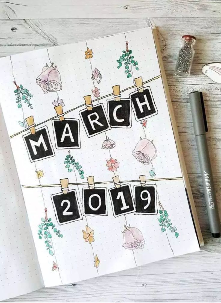 Photo of March Bullet Journal inspiration  #bullet #inspiration #journal #march #new Dini…