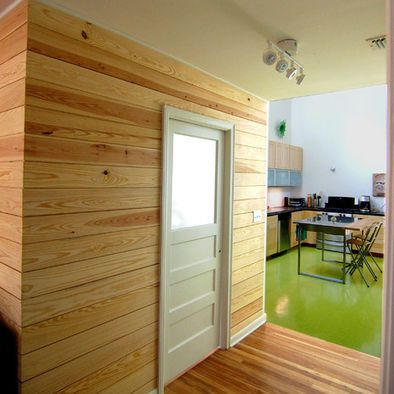 Horizontal Tongue And Groove Accent Wall Tongue And Groove Walls Cedar Walls White Paneling