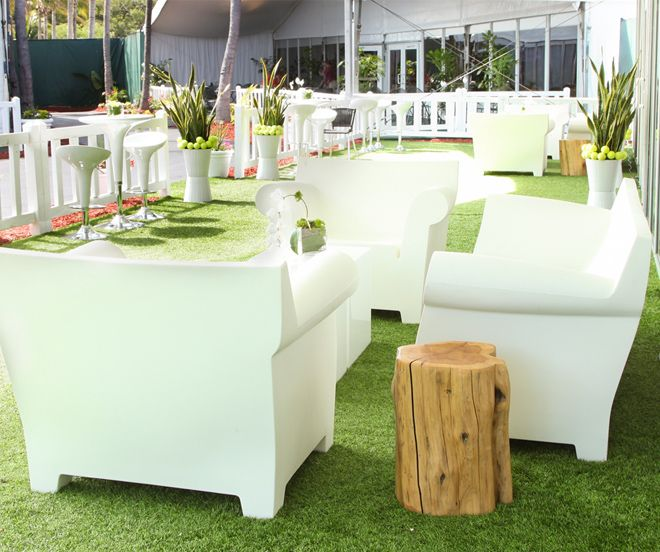 Outdoor Decor, Rentals. Miami Event, Lounge & Furniture