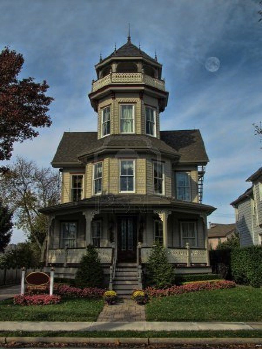 Victorian Tower House Victorian Homes Exterior Tower House House