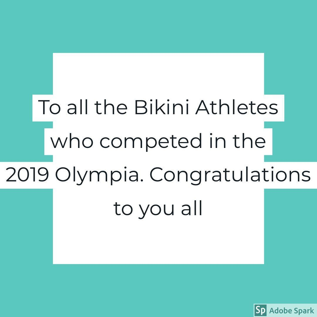 OPIFitness wants to congratulate all the Bikini Athletes for their outstanding performances tonight...