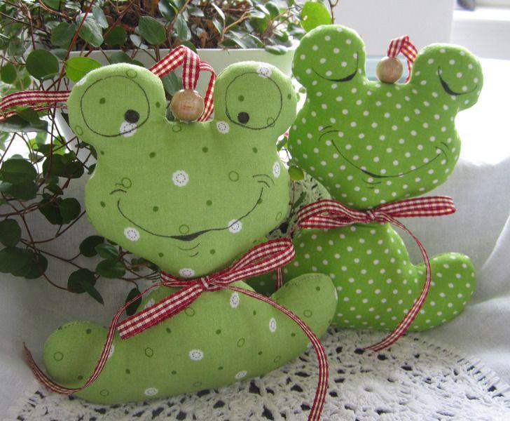 Frosch von Feinerlei auf DaWanda.com | Stofftier | Pinterest ...