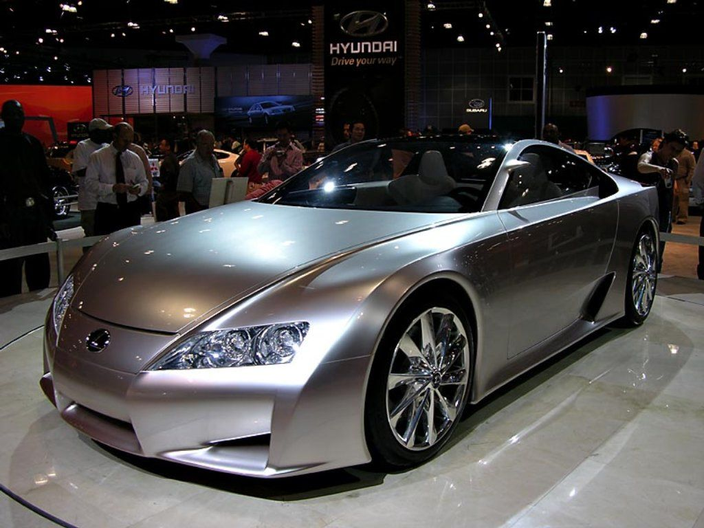 Lexus concept, well out of my price range this year, haha.