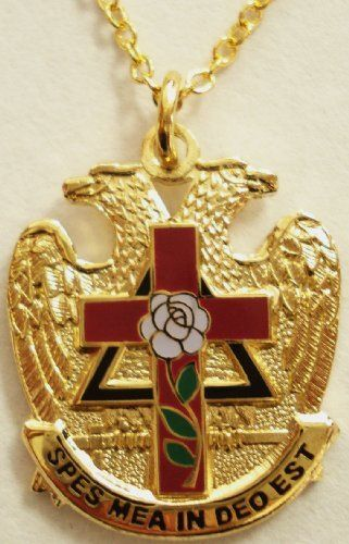 Scottish Rite Rose Croix Cross 32 Degree Masonic Masonry Freemason