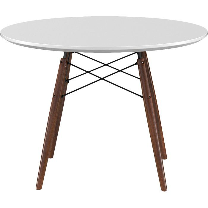 Evangeline Dining Table Under 200 And Free Shipping Could Even Paint The Metal And Wood If You Wanted Dining Table Dining Table In Kitchen Dining