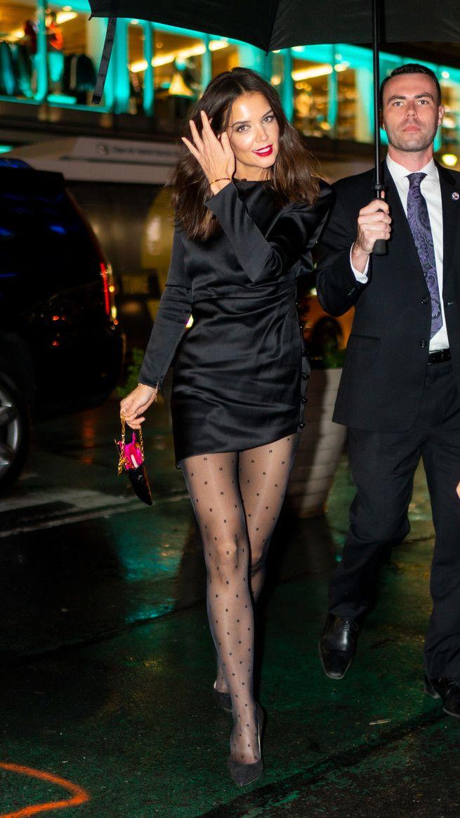 El 'lookazo' de Katie Holmes: vestido de Saint Lau
