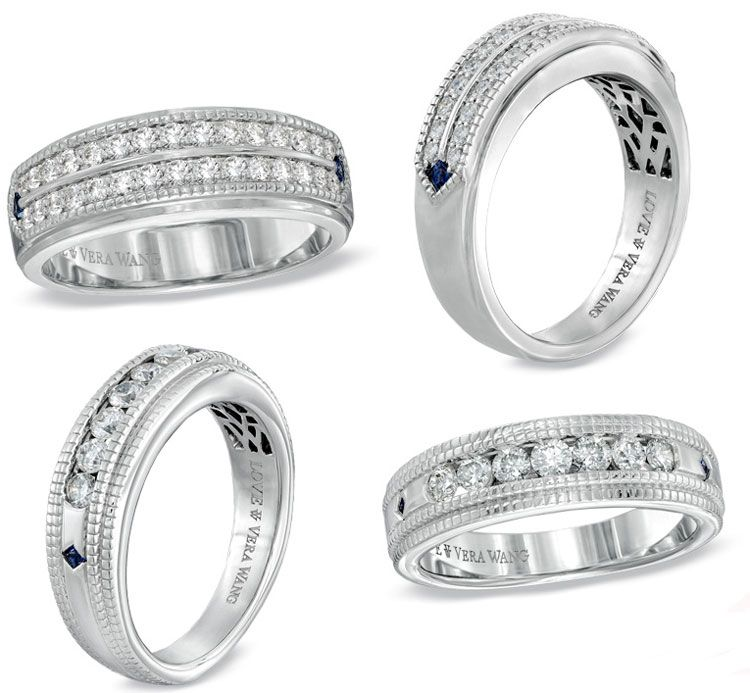 diamond rings - Zales Mens Wedding Rings