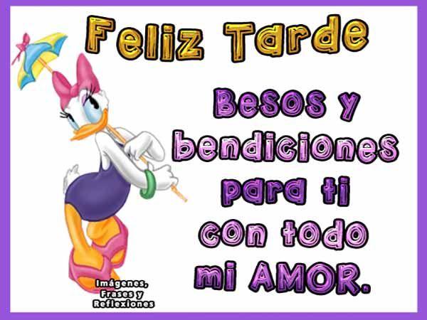Tarjetas De Buenas Tardes Mi Amor Buenas Tardes Pinterest Emoji