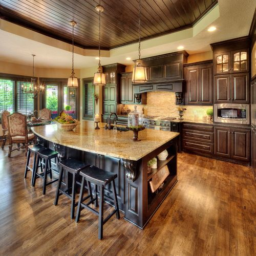 Sherwin Williams Color Combinations Kitchen Design Ideas Remodel Pictures Houzz Mediterranean Kitchen Design Interior Design Kitchen Tuscan Kitchen Design