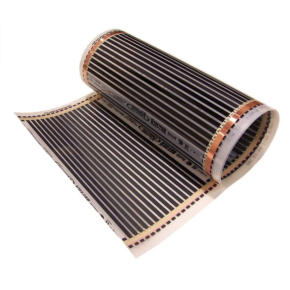 Idealheat 11 Ft 6 In X 20 In 110 Volt Radiant Floor Heating Film Casas Chicas Casitas