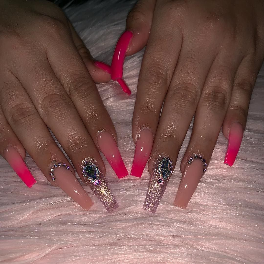 Fill Set Acrylic Nails Gel Polish 40 All Nail Designs Performed By Rocky Nail Designs Are Extra Pedicure Nail Art Manicure And Pedicure Manicure