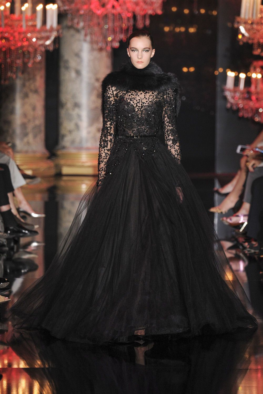 Elie Saab, Haute Couture Paris, Herbst-/Wintermode 2014 ...