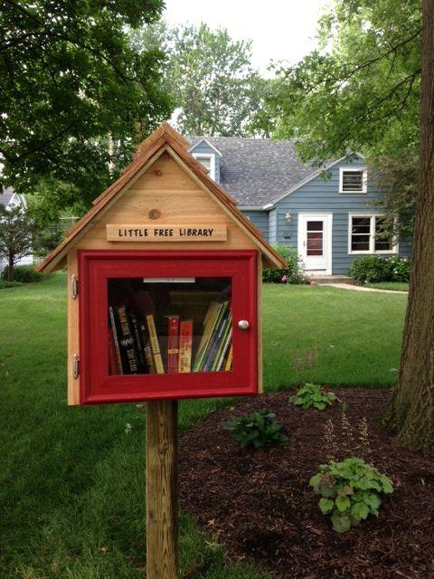 Little Free Library Kristen Guthrie Fort Wayne In With Images Little Free Libraries Free Library Little Free Library Plans