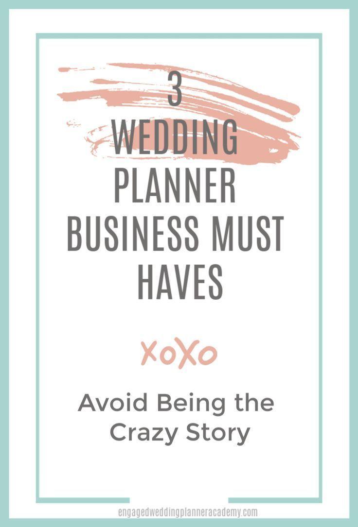 Photo of 3 Hochzeitsplaner Business Must Haves   Verlobte Hochzeitsplaner-Akademie