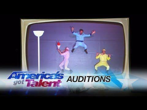 Sirqus Alfon: Digital Acrobatic Group Showcases Their Talent - America's Got Talent 2017 - YouTube