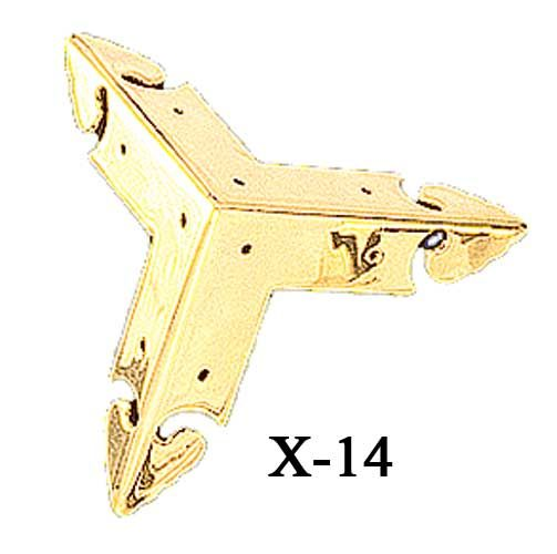 Vintage Hardware U0026 Lighting   Oriental Hardware, Fancy 3 Sided Molded  Corner Trim (