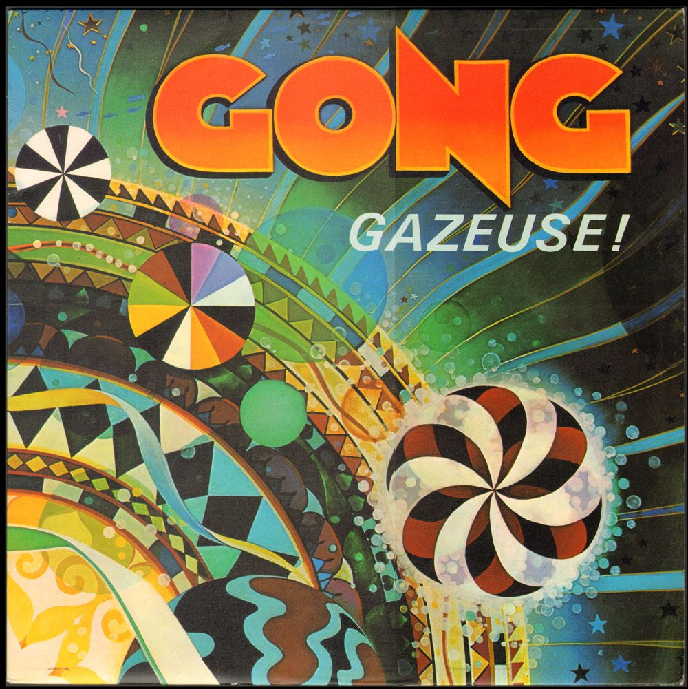Gong gazeuse rock album covers album covers iconic
