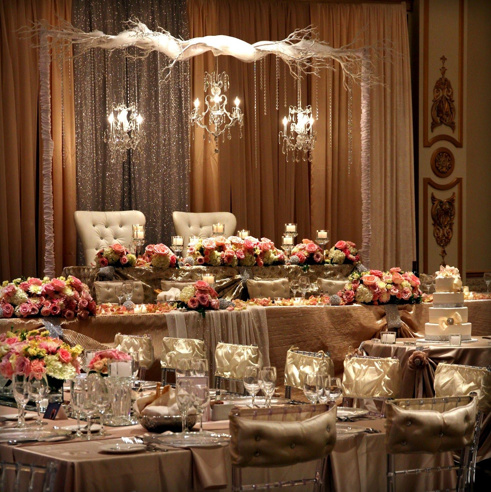Wedding Decorations Re Were Doing Our Table On The Stage Wedding Pinterest