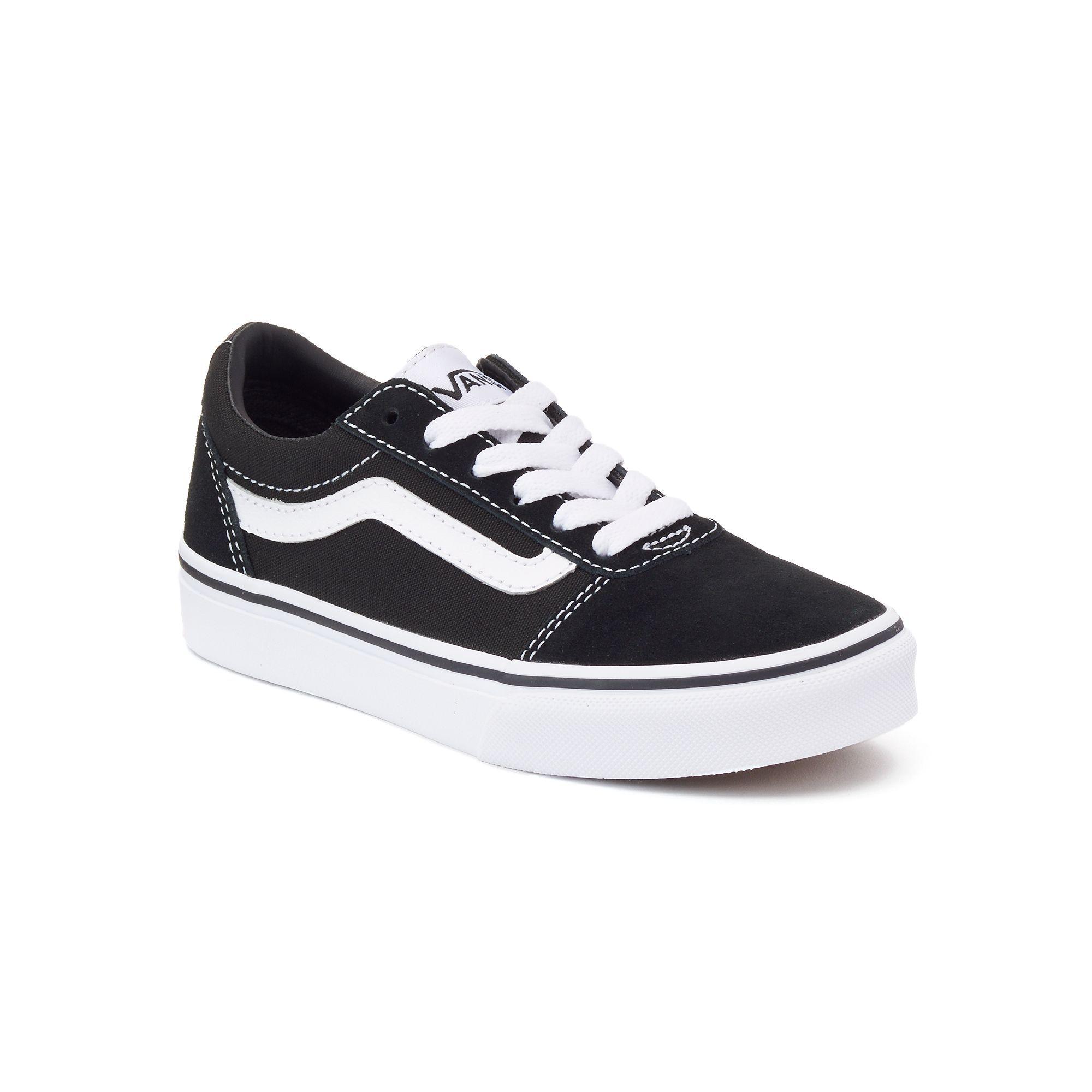 Vans Ward Low Kids' Skate Shoes in 2020 Gutteskøyter  Boys skate shoes