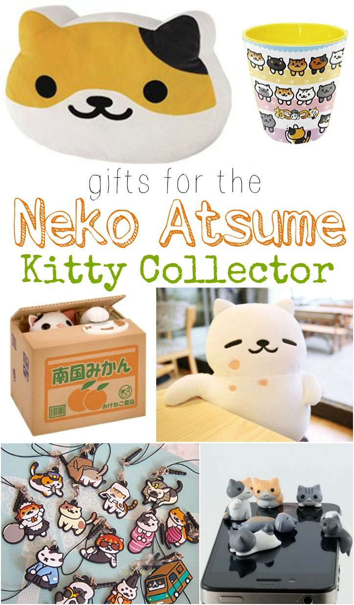 Gifts for the neko atsume kitty collector neko atsume neko and gift super cute easter gift ideas negle Choice Image
