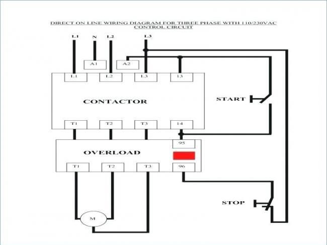 Contactor Wiring Diagram With Timer Pdf