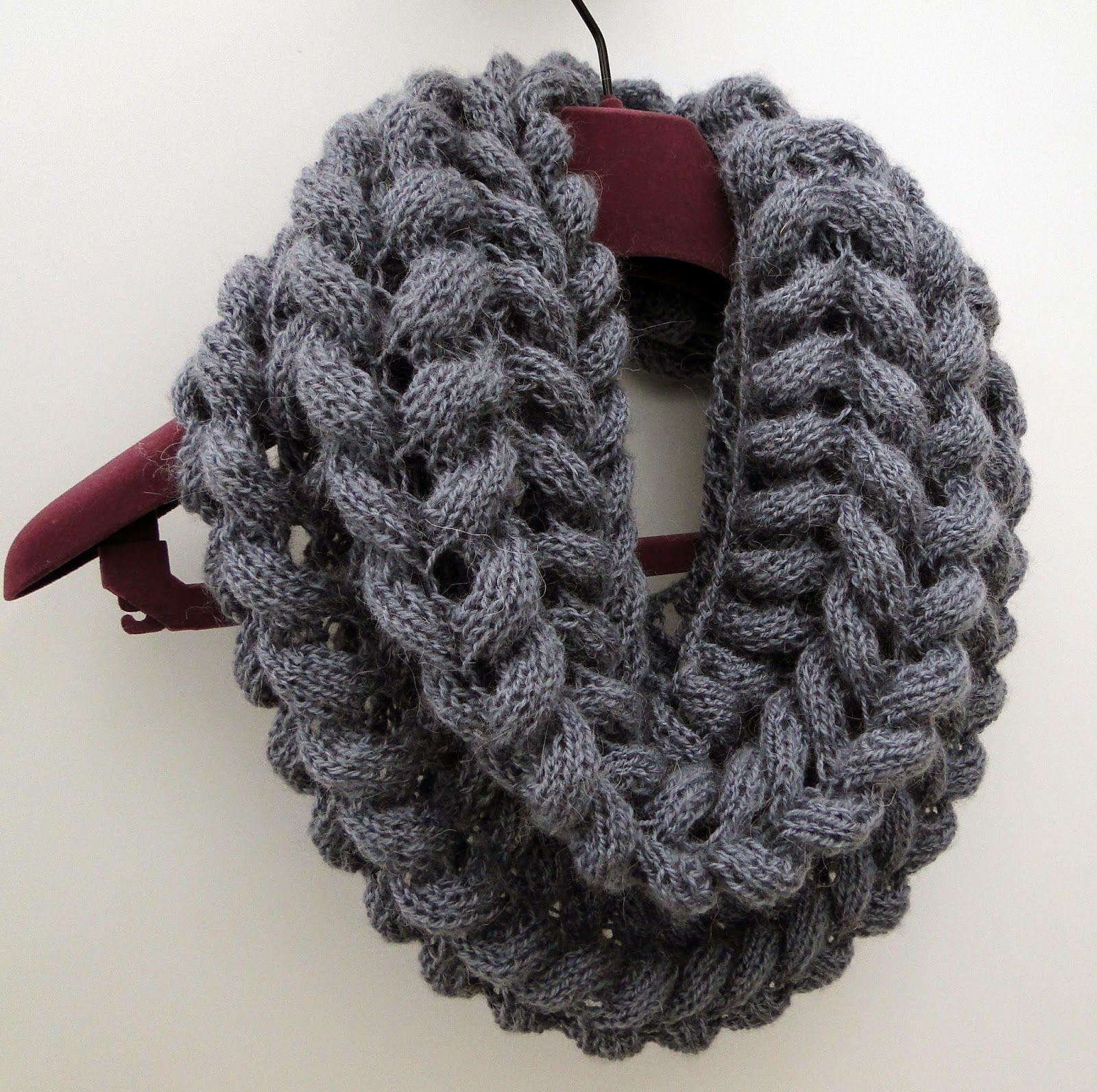 Scarf Cowl Knitting Pattern | Snood knitting pattern ...