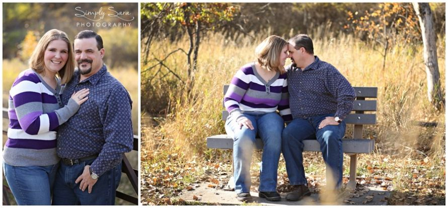 Outdoor Engagement Photo Ideas & Poses - Fall - Billings, Montana Engagement Photographer