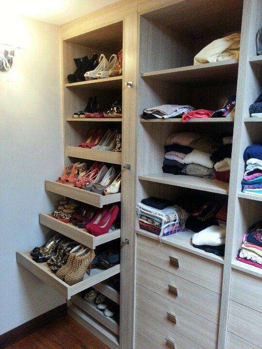 Shoe lades uittrekbaar meerdere schoenen achter elkaar - Armarios para zapatos ...