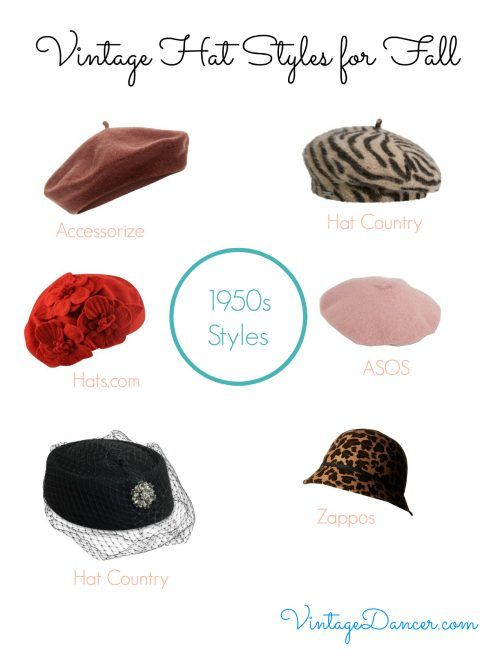 bb41661775641 Vintage Hat Styles for Fall Winter