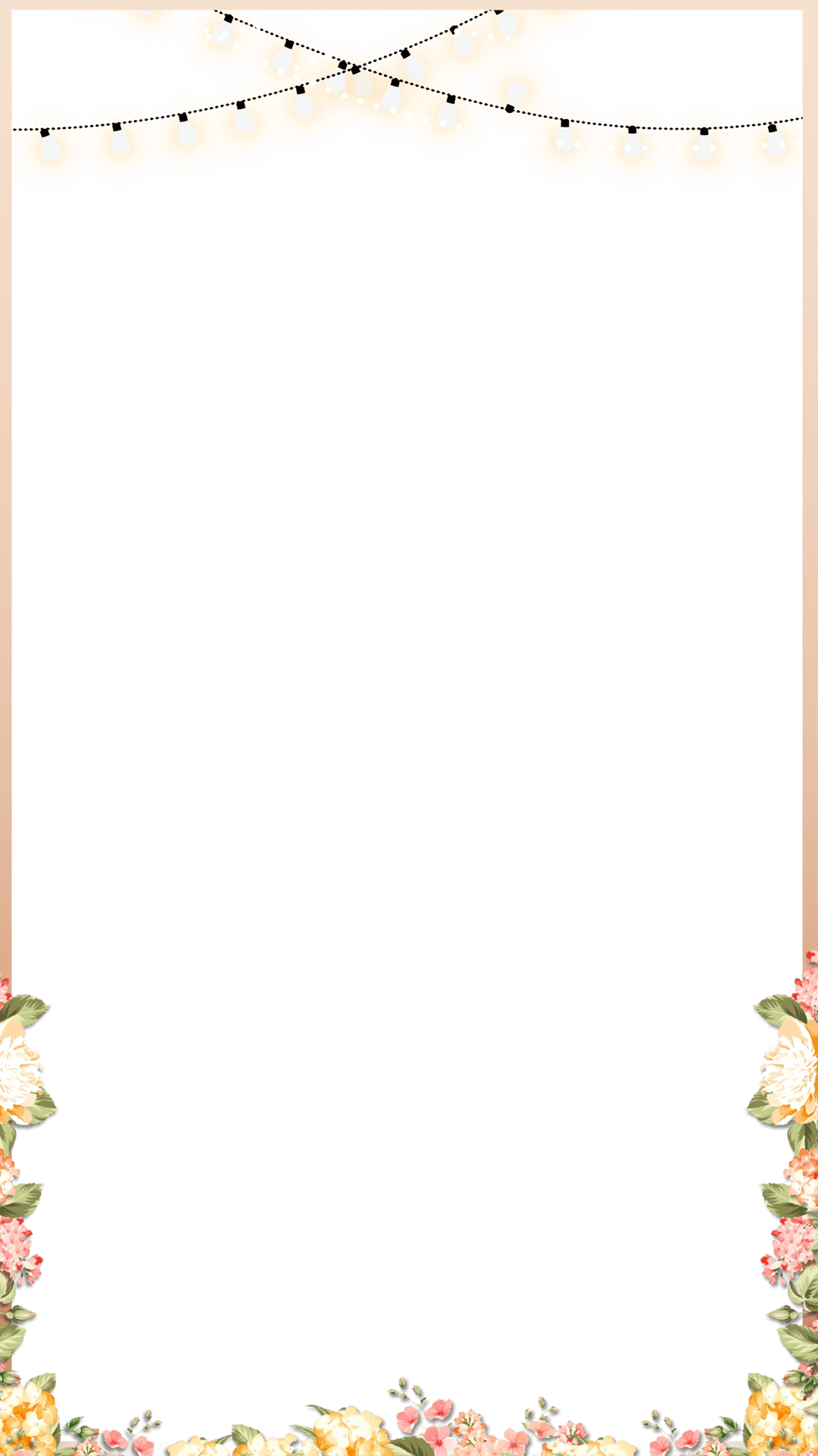 elegant rose gold spring floral wedding snapchat filter geofilter maker on filterpop s. Black Bedroom Furniture Sets. Home Design Ideas