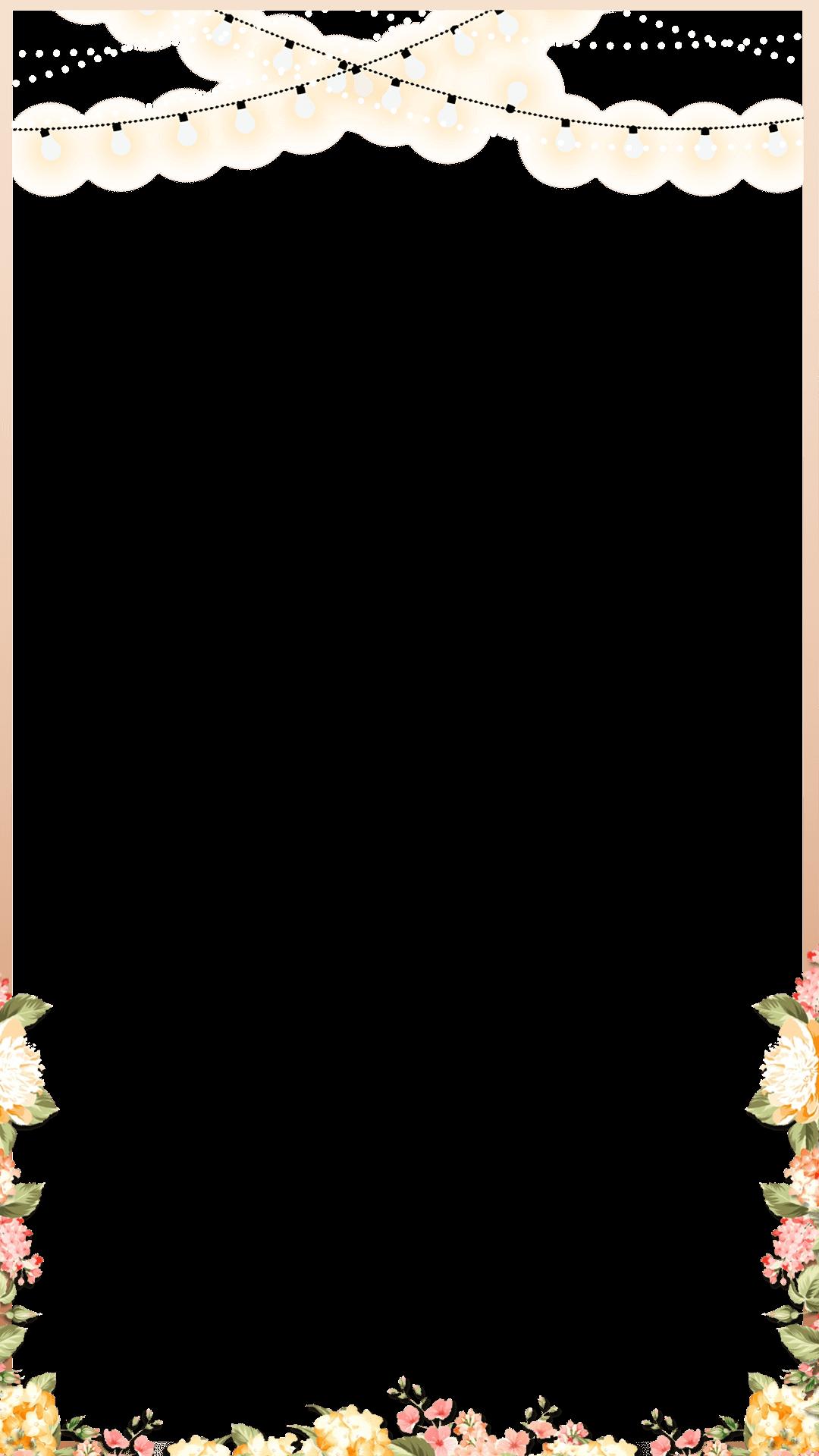 Elegant Rose Gold Spring Floral Wedding Snapchat Filter Geofilter Maker On FilterPop S