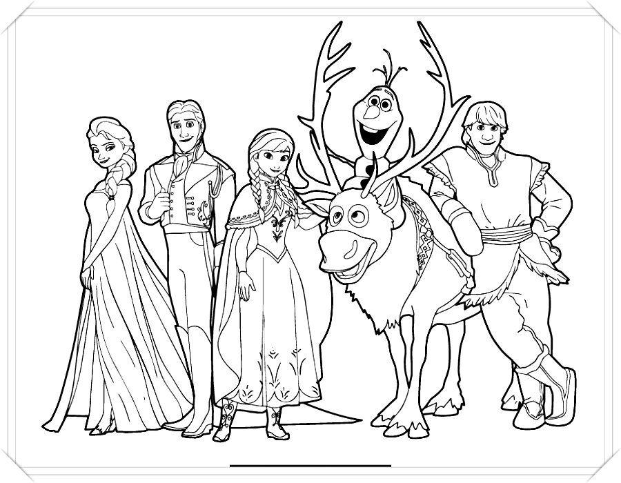 Pin De Dibujo Imagenes En Cristhian Frozen Para Colorear Dibujos De Frozen Frozen Para Pintar