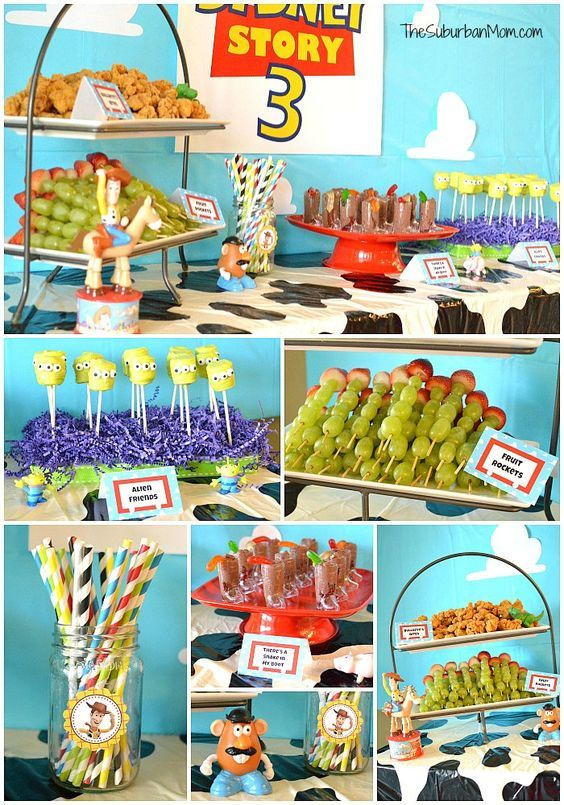 Toy Story Birthday Party Ideas Creative food ideas decorations party favors DIY Crafts free printables party outfit idea games u0026 more!  sc 1 st  Pinterest : toy story decoration ideas - www.pureclipart.com