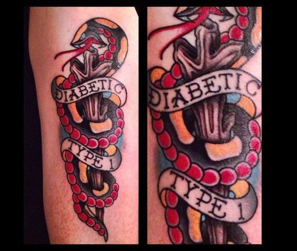 Diabetic Type 1 Tats Pinterest Tatting And Tattoo