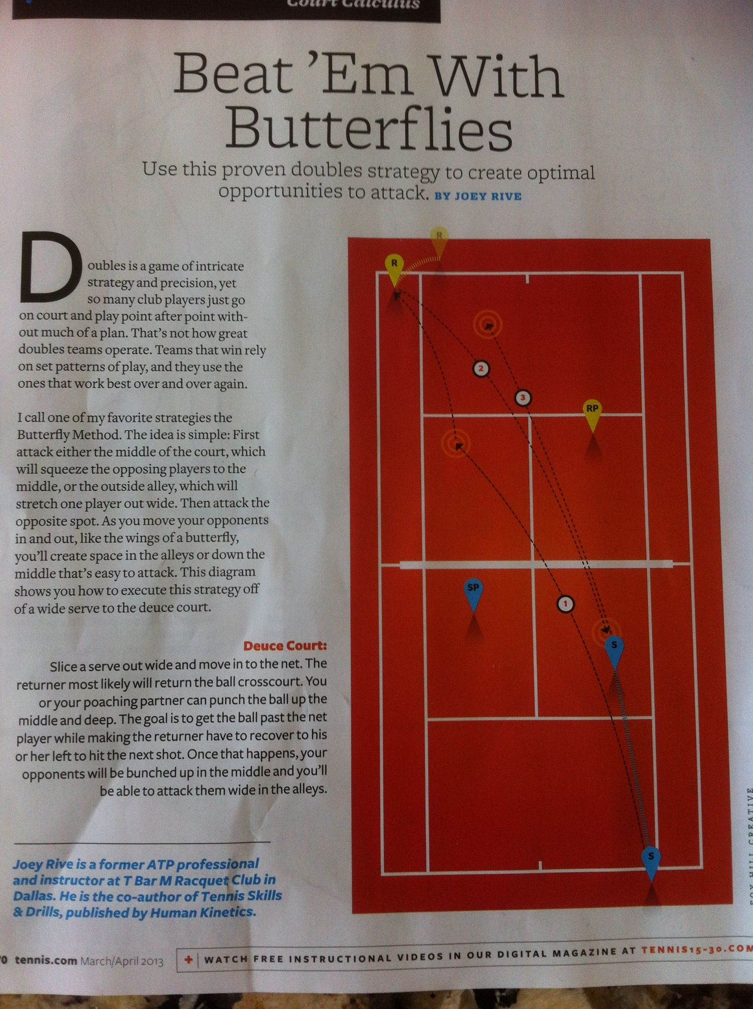 Doubles Strategy From Tennis Com Magazine Tennis Workout Tennis Drills Tennis Doubles