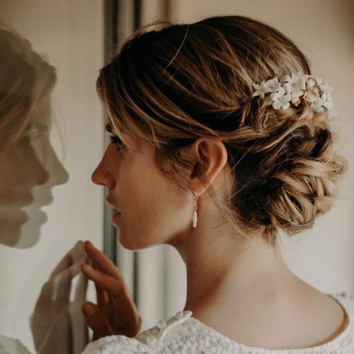 Pin Op Haaraccessoires Bruid Bruidskapsel Bruiloft Wedding Boho Vintage Online