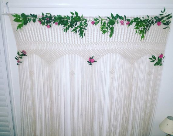 Macrame Wedding Arch made to order by HandMadeMacrameAU on Etsy